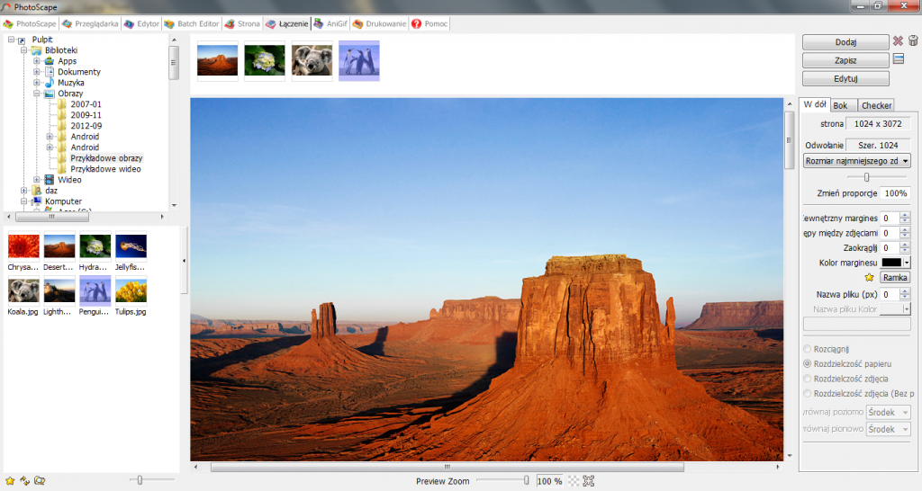 screenshot of Photoscape for Windows