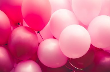 balloons photo background diy