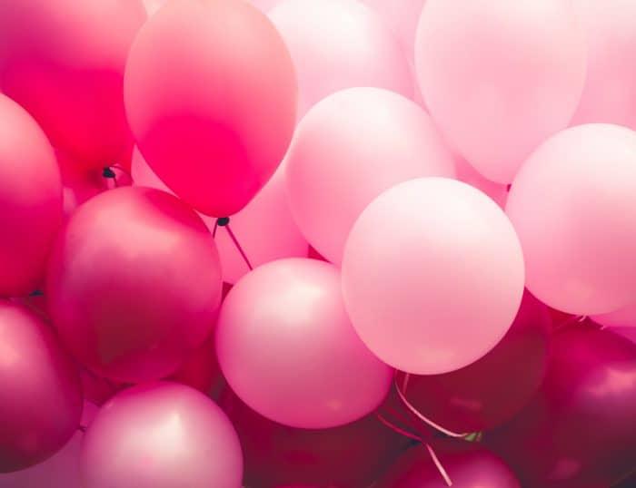 balloons photo background diy