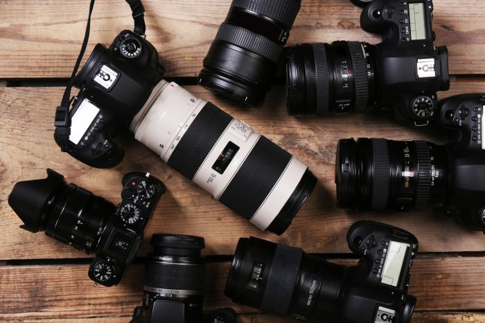 dlsr cameras for shooting stock photography