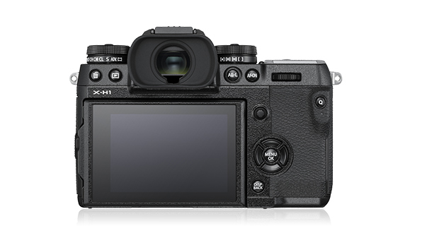 Fujifilm X-H1 back side