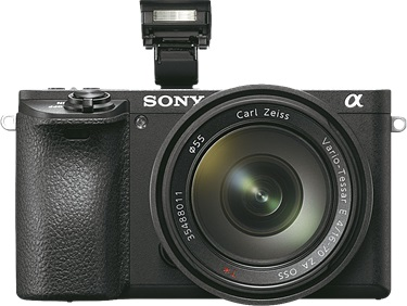 Sony a6500 front side
