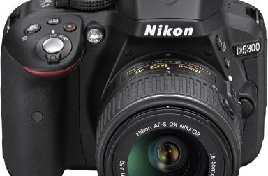 Nikon D5300 front view