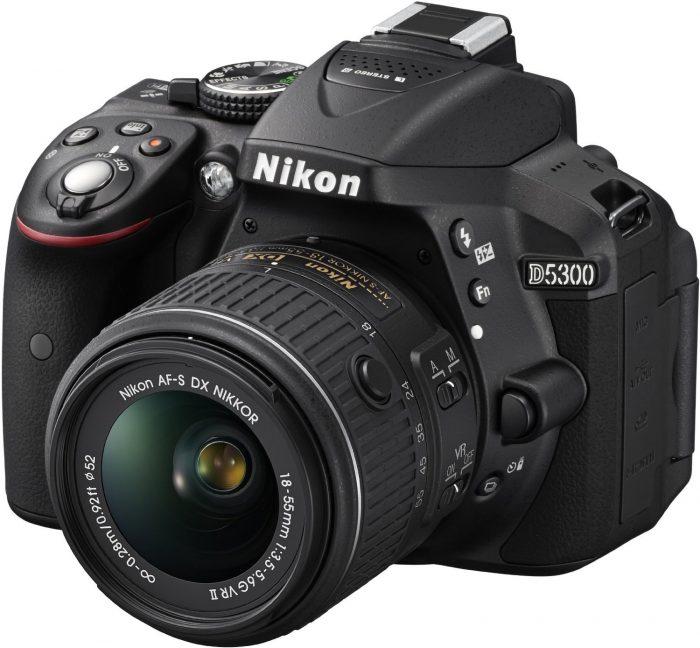 Nikon D5300 side view