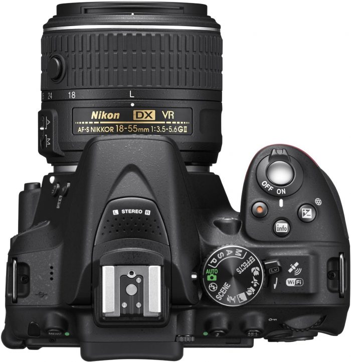 D5300 top view