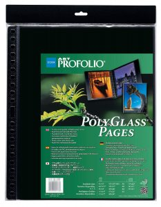 Art Profolio Crystal Clear PolyGlass Pages