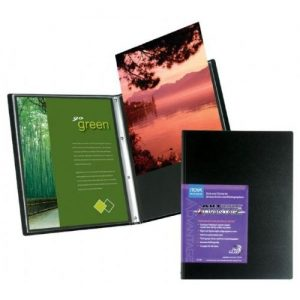 Itoya Art Bound Portfolio with Crystal Clear PolyGlass Pages