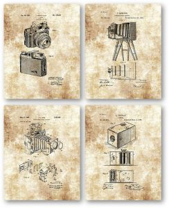camera patent wall sign