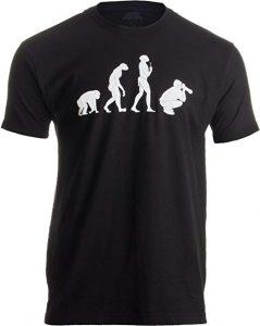 photo evolution tshirt