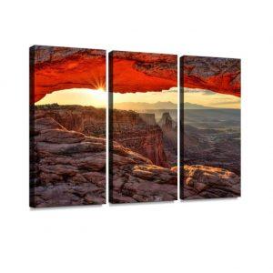 wall decoration canyon image