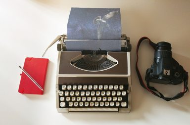 typewriter for creative photography ideas