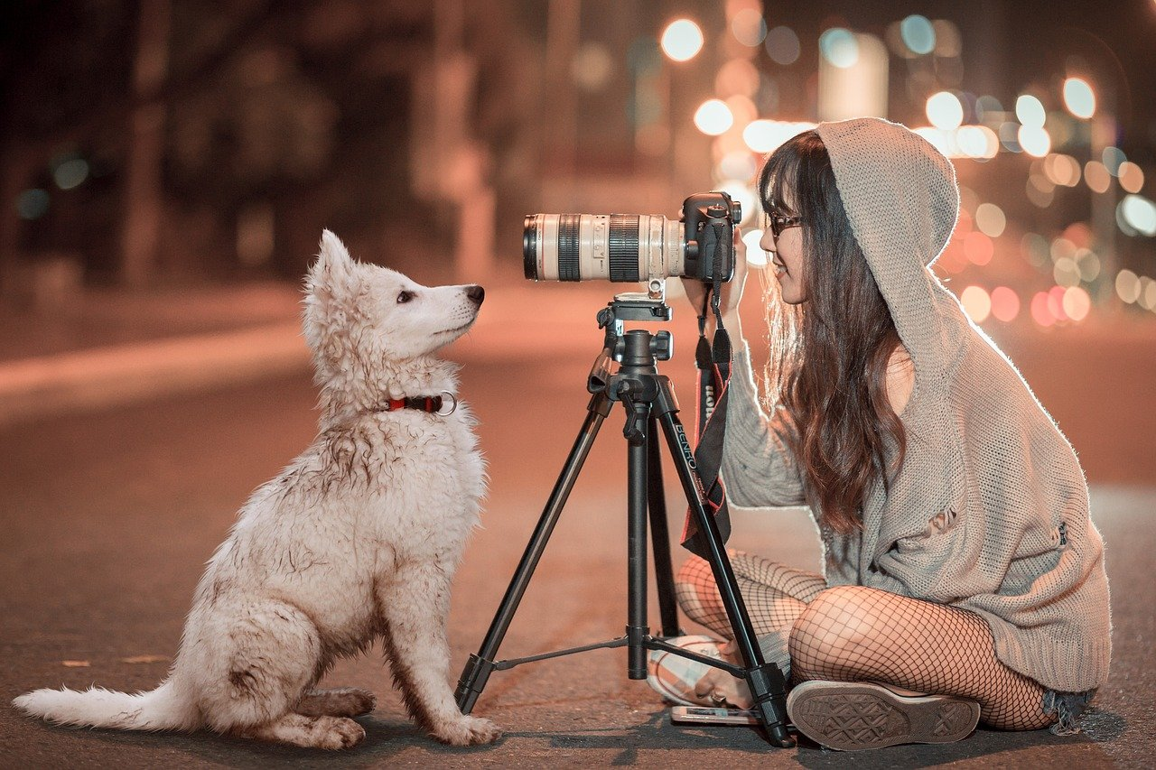 photoshoot with pet